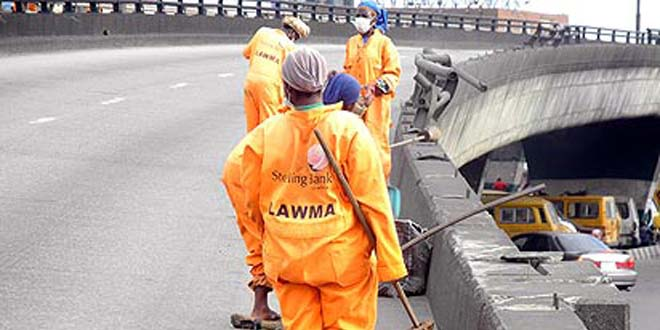 LAWMA street sweepers Photo: mynewswatchtimesng.com
