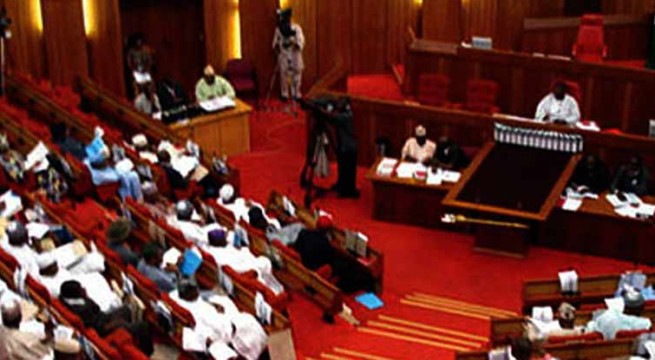 Chaos as Senate Adopts Change in Election Timetable