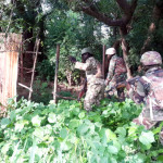 FILE PHOTO: NIGERIAN ARMY TROOPS CLEARING BOKO HARAM ENCLAVES ALONG AXISNigerian Army troops clearing Boko Haram enclaves along Bitta to Tokumbere, Sambisa Forest, Borno state