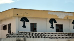What seemed like a PDP office was vandalized, and party logo smudged out in Michika