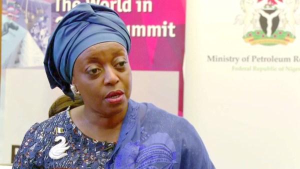 Embattled former Petroleum Minister, Diezani Alison-Madueke