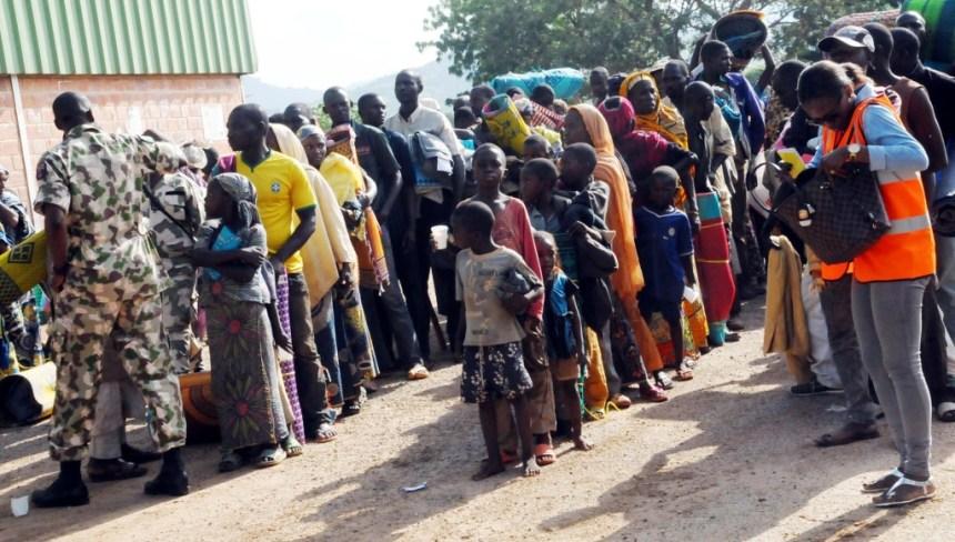 SOME NIGERIAN RETURNEES