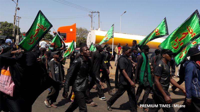 Shi'ite procession  from Kaduna to Zaria