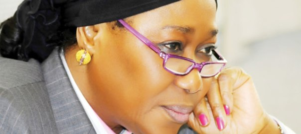 Sacked Farida Waziri as the chairperson of the anti-graft outfit, EFCC.