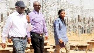 MINISTER OF POWER, WORKS AND HOUSING, MR BABATUNDE FASHOLA, INSPECTING THE KUKWABA POWER PROJECT NEAR THE GAMES VILLAGE, IN ABUJA ON FRIDAY (29/1/16). 29/1/2016/HF/BJO/NAN