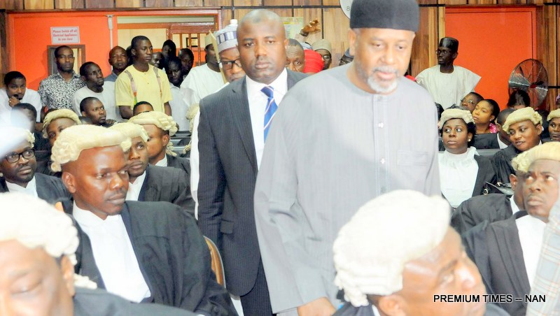 Dasuki in court