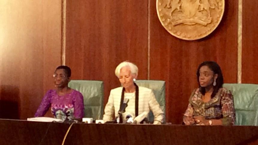 Christine Largade in Nigeria