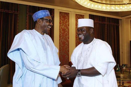 Buhari And Yahaya Bello 1