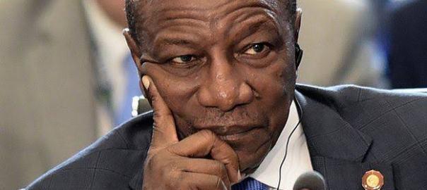 Guinea President, Alpha Conde(1)