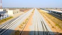 Rail tracks connecting Abuja - Kaduna