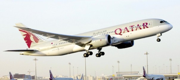 Qatar Airplane used to illustrate the story.