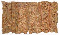 The Key factor by Gerald Chukwuma, burn wood panels, 48 x 84, 2015