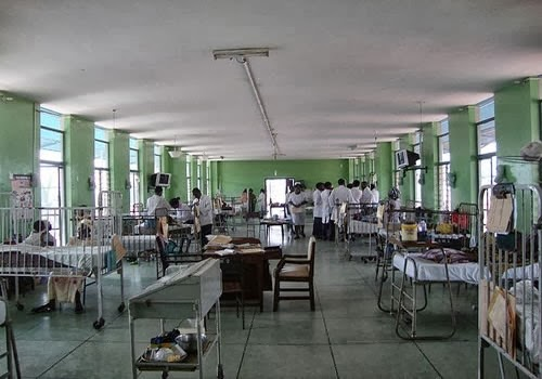 A Hospital ward used to illustrate the story