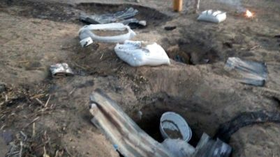Boko Haram's underground food storage uncovered