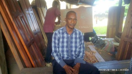Anietie Bassey, vice president of MCC timber market, Calabar
