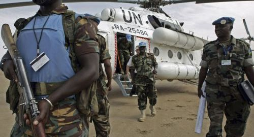 UN Peacekeepers [Photo: therising continent.com]