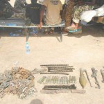Another round of weapons recovered from Boko Haram1. Photo  credit. Nigerian Army