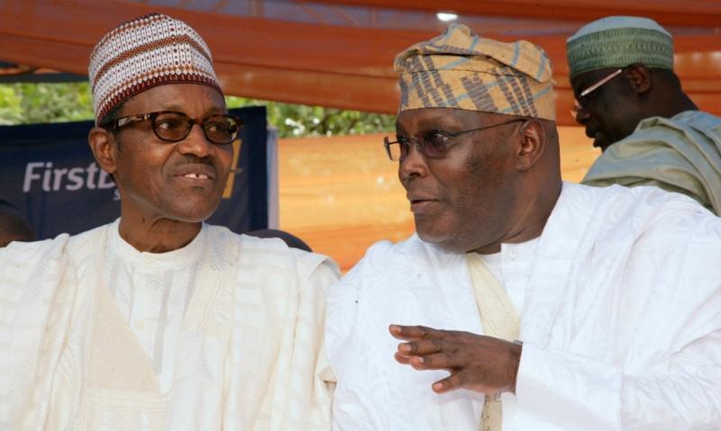 Image result for buhari and atiku
