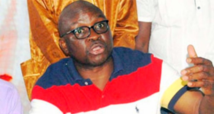 Ayodele Fayose, Ekiti State Governor Photo: DailyPost