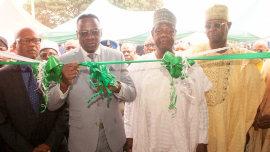 Governor Abdulfatah Ahmed commissions the Kwara State Internal Revenue Service KWIRS lorin