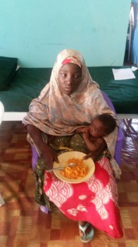 Amina Ali, rescued Chibok Girl rescued by the Nigerian Army today