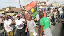 MASSOB protest