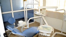 New equipment at the dental unit of the Ilorin General Hospital