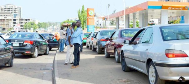 FILE PHOTO: Fuel queue in Abuja