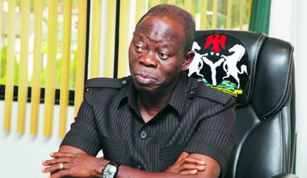 Former Governor Adams Oshiomole