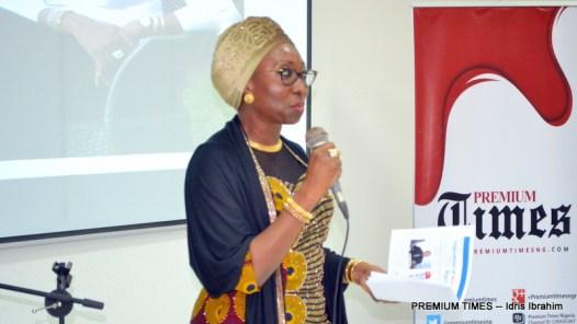 """Mrs Amina Oyagbola speaking on """"Imperatives of work-life balance"""""""