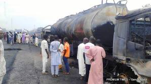 Fuel tanker fire in Kano