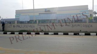 One of the seized assets of Ben Murray-Bruce, Silverbird, Port-Harcourt