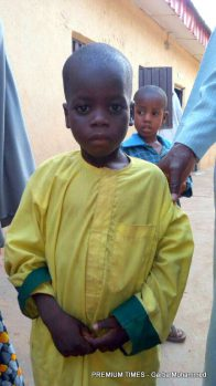 Little Alkassim Muhammad,4-year-old traumatize at sight of motorcycle