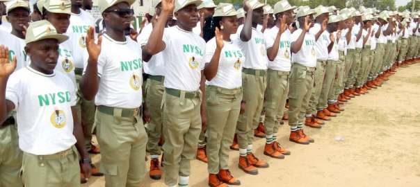 PIC. 4. NYSC 2016 BATCH A STREAM 2 CORPS MEMBERS TAKING OATH DURING THEIR SWEARING-IN CEREMONY AT THE STATE NYSC PERMANENT ORIENTATION CAMP IN TSAFE, ZAMFARA ON WEDNESDAY (15/6/16). 4371/15/6/2016/TAM/BJO/NAN