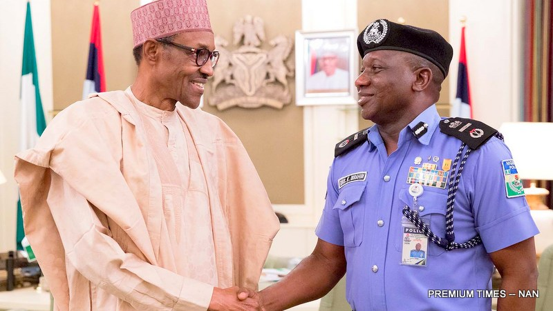 Image result for IG of Police, Idris