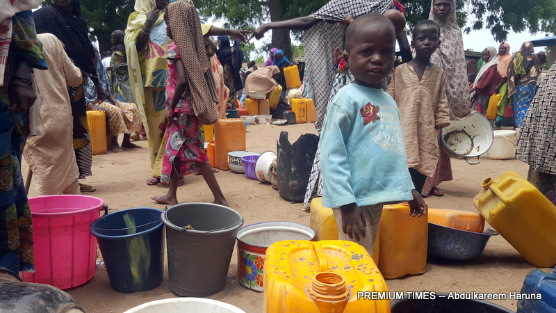 Image result for Many feared dead as Nigerian jet mistakenly drops bomb on IDP camp
