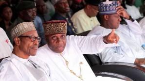President Muhammadu Buhari commissioning the Abuja-Kaduna Railway 4
