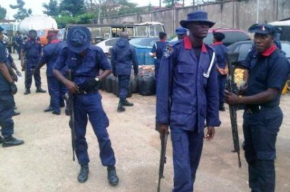 NSCDC personnel used to illustrate the story will be protecting farmlands