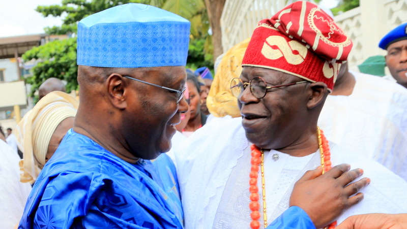 Image result for Tinubu: Atiku is