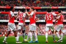 Iwobi and Arsenal teammates