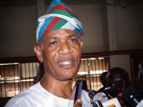 Olusola Oke, Ondo APC Aspirant    Photo by SaharaReporters