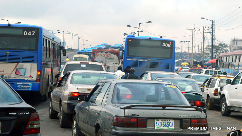 Traffic Gridlock in Lagos