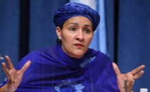 Amina Mohammed, UN Deputy Secretary General