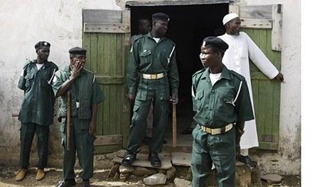 Sharia police, AKA Hisbah [Photo credit: Today.ng]