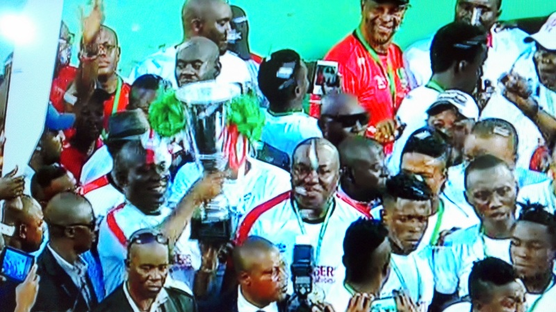 Enugu Rangers winning the 2015/2016 Nigeria Premier League