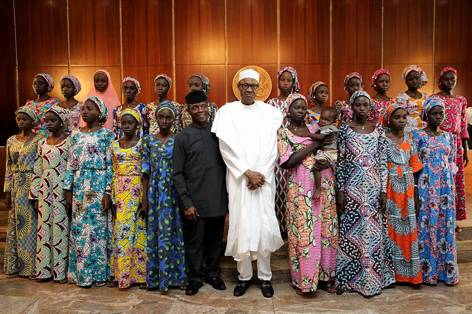 Released Chibok Girls Go Home For Christmas
