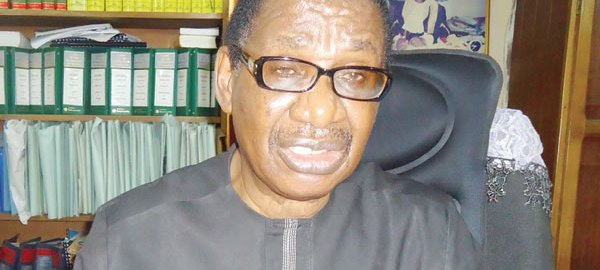 Itse Sagay, Chairman, Presidential Advisory Committee Against Corruption