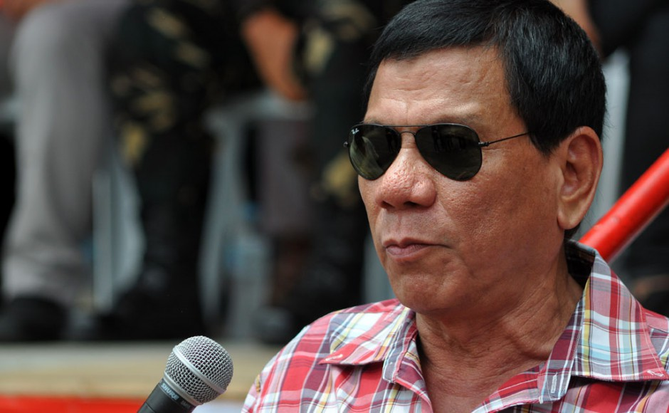 Philippine President Duterte 'slightly hurt' in motorcycle mishap
