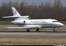Presidential plane used to illustrate the story.