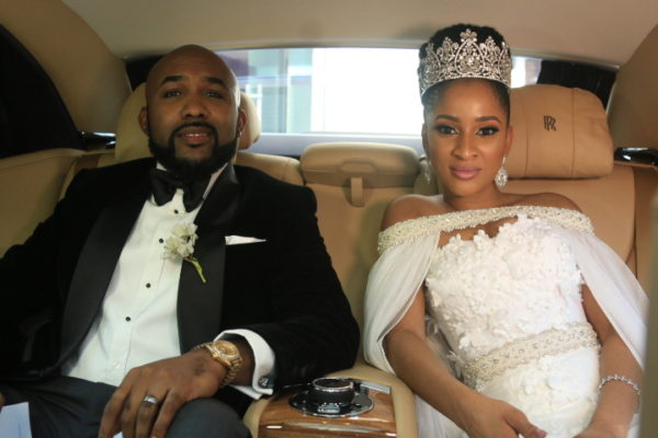 banky-w-and-adesua-etomi-as-newlyweds-in-the-wedding-party